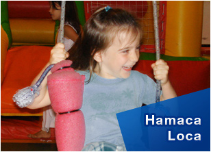 Hamaca Loca en Happy Park